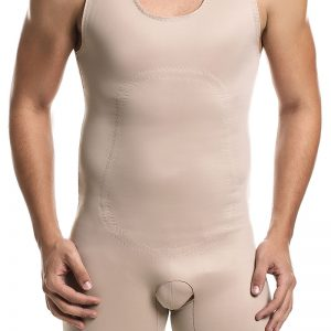 male body shaper with legs