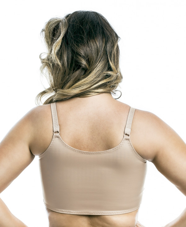 POST SURGERY FRONT FASTENING BRA WITH ADJUSTABLE STRAPS
