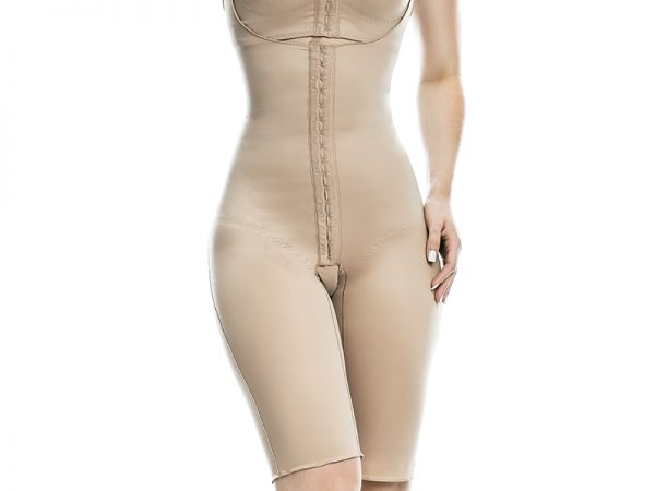 above knee body shapewear compression garment