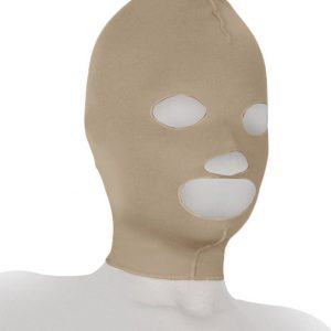 Post surgery compression face mask